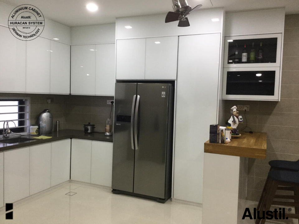 Custom Made Aluminium Kitchen Cabinet