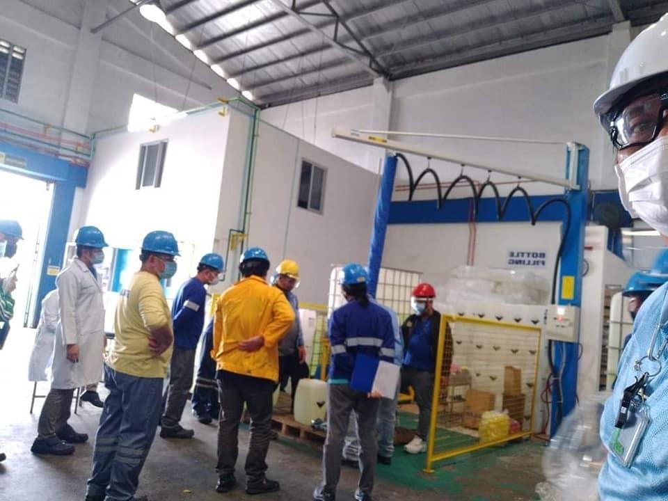Ergonomic Lifting System Installation