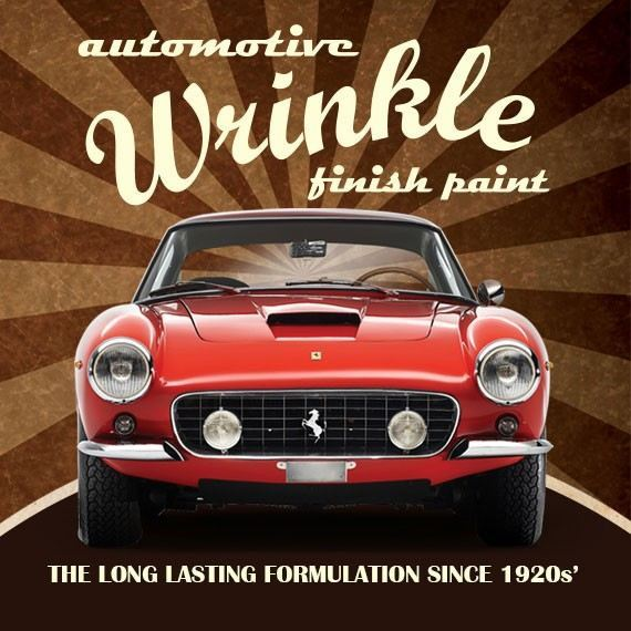 AW 78 AUTOMOTIVE WRINKLE FINISH PAINT