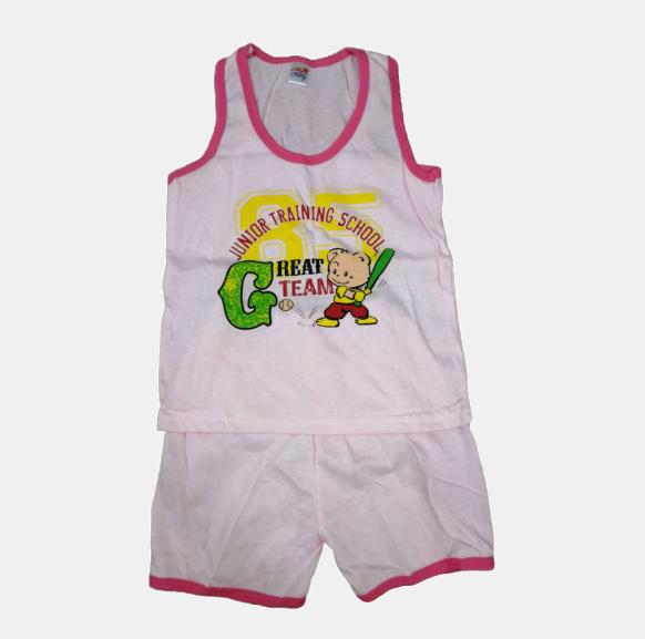 3 or 6 pcs / 3~9 months FREE SIZE SINGLET SLEEVELESS CHILDREN KID SET SHIRT CARTOON UNISEX BOY OR GI