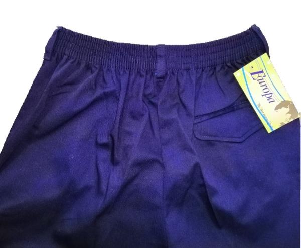 [ Ready Stock ] Best Quality Primary Getah stretchable school long pants navy Seluar sekolah rendah