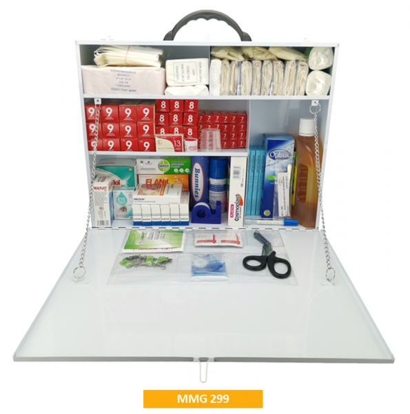 Equipped Metal First Aid Kit MMG299 - Giant