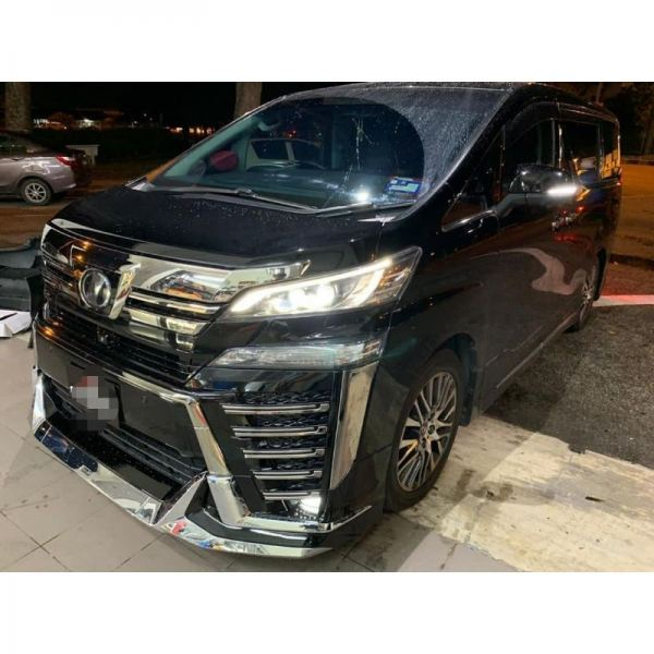 Toyota Vellfire Anh30 2015 to 2018 front bumper bodykit