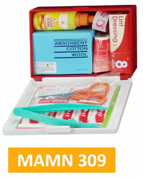Equipped ABS First Aid Kit MAMN309 - Mini