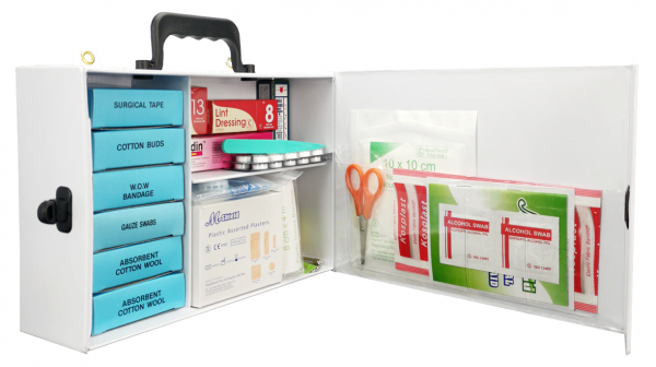 Equipped PVC First Aid Kit MPL139 - Large