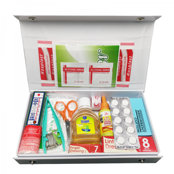 Equipped PVC First Aid Kit MPS119 - Small