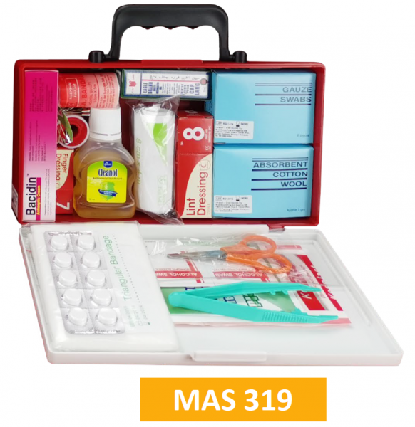 Equipped ABS First Aid Kit MAS319 - Small