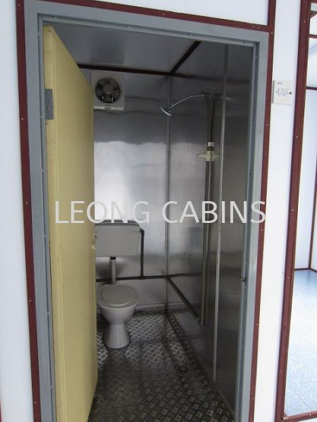 Cabin with Toilet
