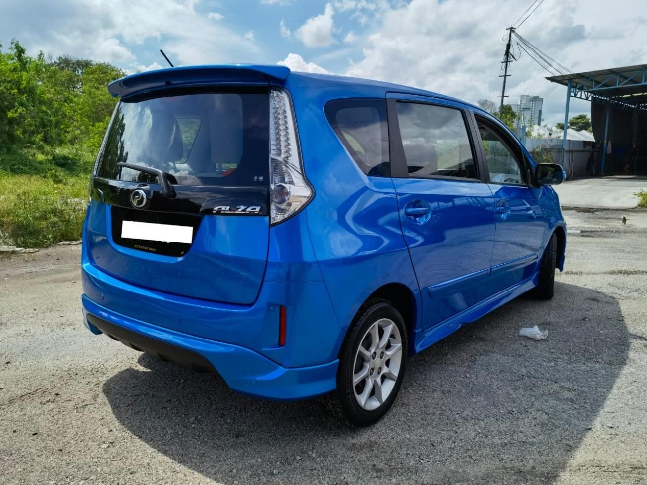 2016 Perodua ALZA 1.5 E FACELIFT (A)ZERO DEPO FULL