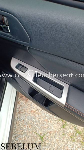 SUBARU XV STEERING WHELL REPLACE SYNTHETIC LEATHER