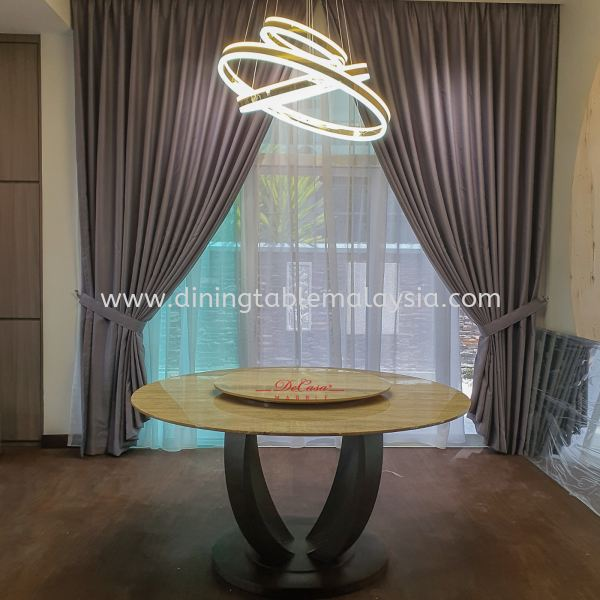 Majestic Dining Table | Roma Travertine | 8 Seaters