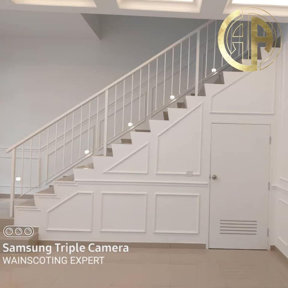 fr003 High Quality Luxurious Look 20mm x 35mm Wall Decoration and Wainscoting From Malaysia