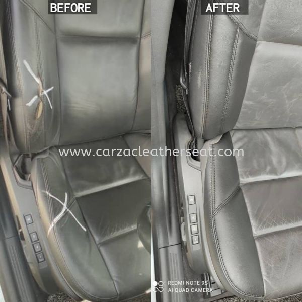 VOLVO SEAT REPLACE SYNTHETIC LEATHER