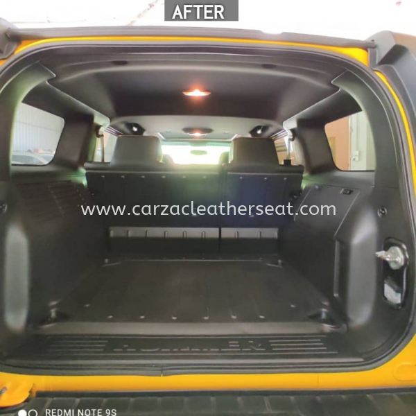 HUMMER 3 ROOF LINER COVER REPLACE FROM LIGHT GREY TO BLACK