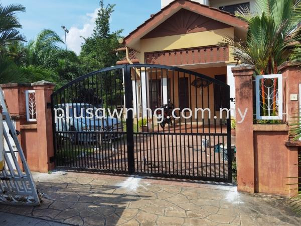 Swing Gate @Jalan Damai Puspa 10, Alam Damai, Kuala Lumpur