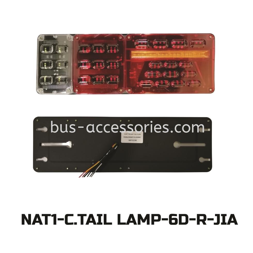 TAIL LAMP COMBINATION (24V)LEFT&RIGHT/MEDIUM
