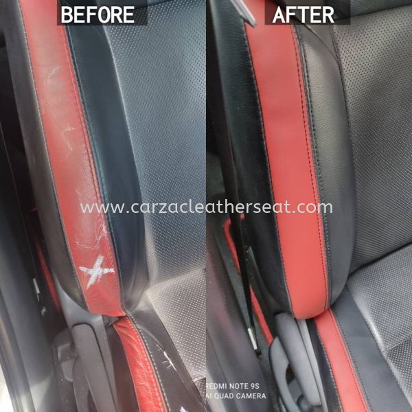 TOYOTA VIOS SEAT REPLACE SYNTHETIC LEATHER