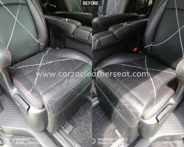 TOYOTA VELLFIRE SEAT REPLACE SYNTHETIC LEATHER
