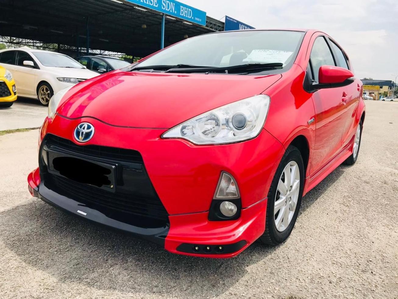 2012 TOYOTA PRIUS C 1.5 AUTO
