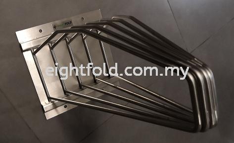 Wall mounted stainless Steel Hanger V3