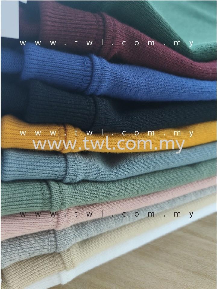 TS021 Baju 21s 280g Oversized T-Shirt