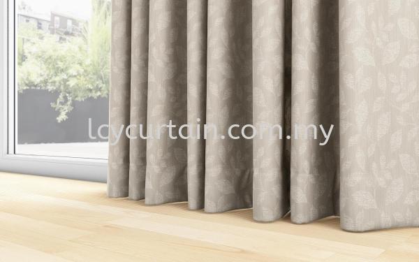 Leaves Curtain Naturelle Botanic 03 Sand