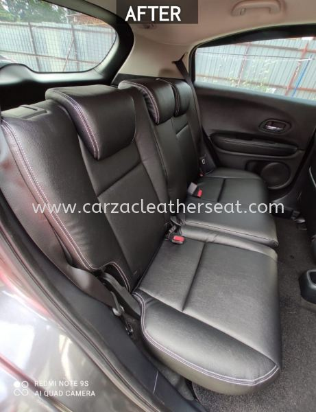 HONDA HR-V SEAT REPLACE FROM FABRIC TO SYNTHETIC LEATHER