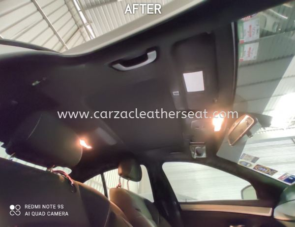 BMW 523I SUNROOF COVER REPLACE