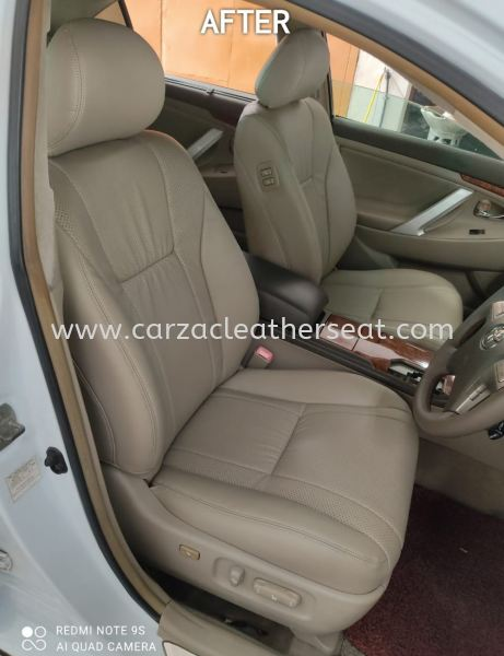 TOYOTA CAMRY SEAT REPLACE LEATHER/BALUT LEATHER/SEAT TUKAR LEATHER