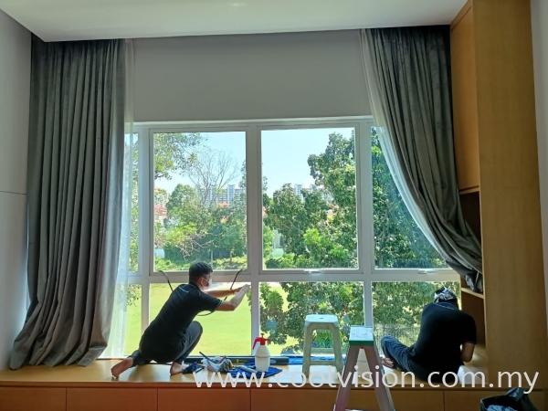 Tinted Film @ Bukit Jalil Golf Resort