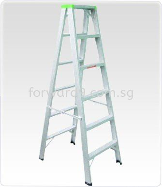 Aluminium Double Sided Ladder Ladder Ladder / Trucks / Trolley Material Handling Equipment Singapore Supplier, Manufacturer, Supply, Supplies | Forward Solution Engineering Pte Ltd