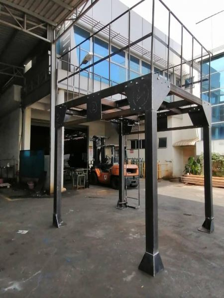 Steel Platform General Engineering Works Singapore Services | Brown Metal Engineering Pte Ltd