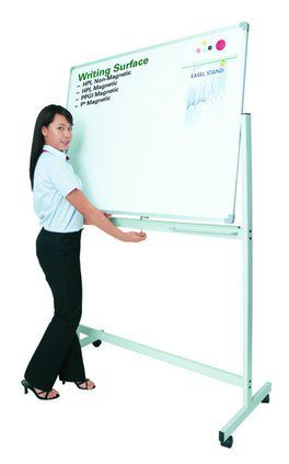 Mobile Double Sided Whiteboard Mobile Stand Writing Board / White Board Malaysia, Selangor, Kuala Lumpur (KL), Seri Kembangan Supplier, Suppliers, Supply, Supplies | Aimsure Office System Sdn Bhd