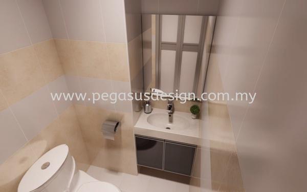 Bathroom Design Johor Bahru (JB), Taman Universiti, Skudai Contractor, Service   Pegasus Design & Build Sdn Bhd