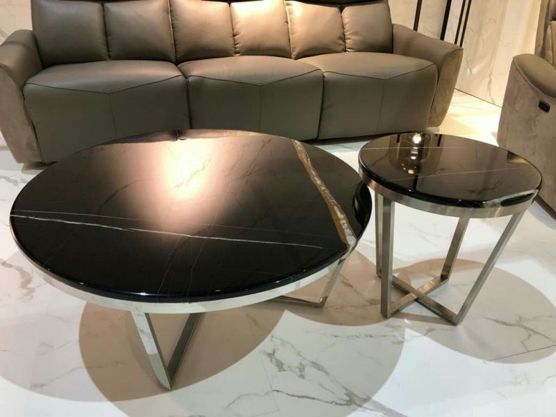 Black Marble Coffee Table - St. Laurent Marble Marble Coffee Table Australia Supplier, Suppliers, Supply, Supplies | Decasa Marble