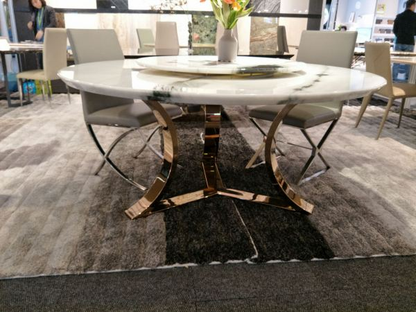 White Marble Dining Table - Panda White Marble Marble Dining Table Australia Supplier, Suppliers, Supply, Supplies | Decasa Marble