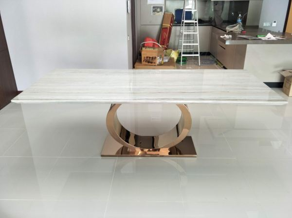 Grey Marble Dining Table - Palisandro  Marble Dining Table Australia Supplier, Suppliers, Supply, Supplies | Decasa Marble