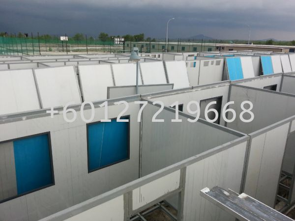 Start installation prefab house for labour accommodation at PETRONAS Sipitang, Sabah. CABIN & PRE-FABRICATED HOUSE Malaysia, Johor Bahru (JB), Pasir Gudang Manufacturer, Supplier, Supply, Supplies | AMP POWER HOLDINGS SDN BHD