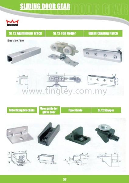 Dorma Product Johor Bahru (JB), Malaysia Supplier, Suppliers, Supply, Supplies | Tingley (Johore) Sdn Bhd