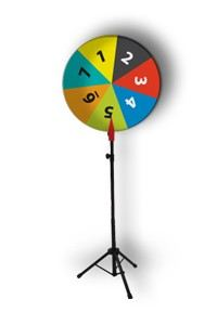 Wheel of Fortune Stand (SFW80) Fortune Wheel Standee Selangor, Malaysia, Kuala Lumpur (KL), Subang Jaya Supplier, Suppliers, Supply, Supplies   A Top Station Enterprise (M) Sdn Bhd
