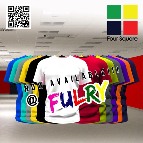 Foursquare Round Neck 160gsm Cotton TShirts Blank T-Shirts Selangor, Malaysia, Kuala Lumpur (KL), Petaling Jaya (PJ) Supplier, Suppliers, Supply, Supplies | Heat Press Mart Sdn Bhd