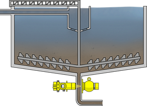 ensity measurement in the ore thickener