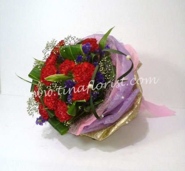 HB 002   MOTHER LOVE Hand Bouquet Johor Bahru (JB), Malaysia, Skudai Supplier, Suppliers, Supply, Supplies | Tina Floral Art Academy
