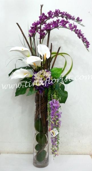 TA 023 Artificial Flower Table Arrangement Johor Bahru (JB), Malaysia, Skudai Supplier, Suppliers, Supply, Supplies | Tina Floral Art Academy