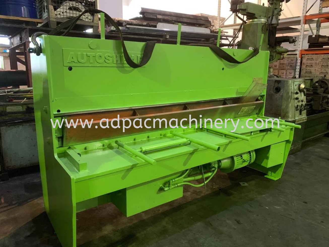 Used 'Autoshear' Hydraulic Shearing Machine