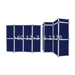 Folding panel navy blue (fabric) PFF