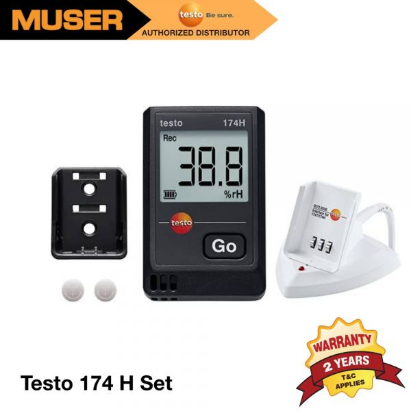 Testo 174 H Set | Mini Data Logger for Temperature and Humidity in a Set [Delivery: 3-5 days] Data Loggers Data Loggers / Monitoring System Kuala Lumpur (KL), Malaysia, Selangor Supplier, Suppliers, Supply, Supplies | Muser Apac Sdn Bhd