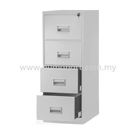 A106-A STANDARD 4 DRAWER FILLING CABINET Standard Filing Cabinet Office Steel Furniture Kuala Lumpur (KL), Malaysia, Selangor Supplier, Suppliers, Supply, Supplies | Human Art Office System
