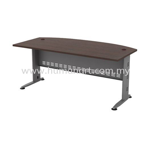 6' EXECUTIVE TABLE D-SHAPE METAL J-LEG C/W METAL MODESTY PANEL QMB 180A AQ Series Executive Table Kuala Lumpur (KL), Malaysia, Selangor Supplier, Suppliers, Supply, Supplies | Human Art Office System