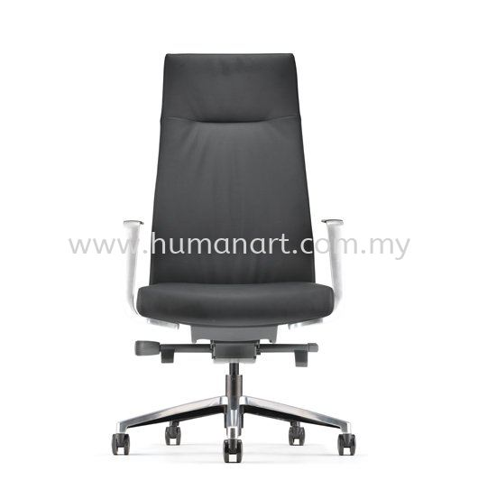PREMIUM DIRECTOR HIGH BACK LEATHER CHAIR WITH ALUMINIUM BASE AND POLISHED ARMREST APM 6310L PREMIUM Director Chair Director Chair Kuala Lumpur (KL), Malaysia, Selangor Supplier, Suppliers, Supply, Supplies | Human Art Office System